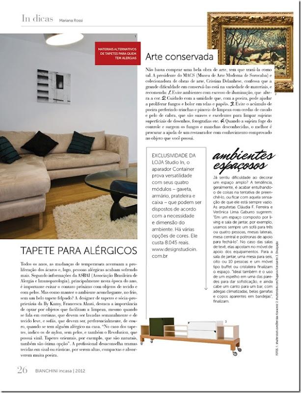 Revista Bianchini In Casa edição 77