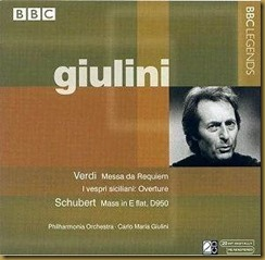 Giulini Verdi Requiem BBC Legends
