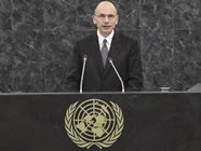 Enrico Letta all'ONU