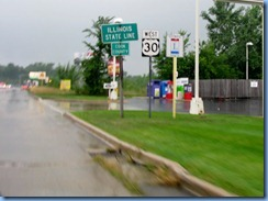 4535 Indiana-Illinois border - Lincoln Highway (US-30)