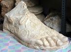 Sagalassos - sandalia de Adriano
