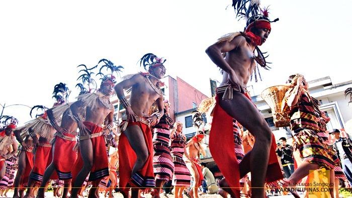 Igorot Dancers at Baguio's Panagbenga Festival