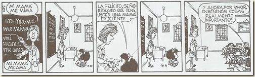 Mafalda... mi mamá me mima