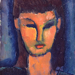 Modigliani, unidentified portrait