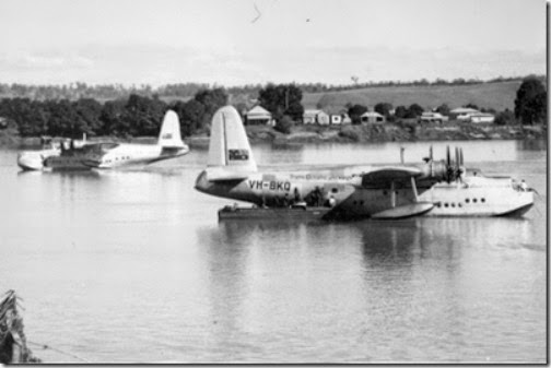 Sunderland Flying Boats Clarence River