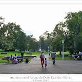 Atardece en el Parque de Doña Casilda