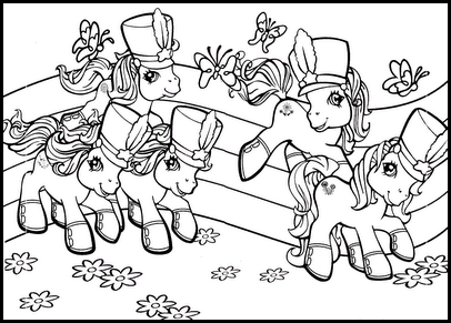 My little pony colorear 009