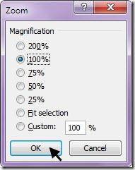 kotak dialog zoom