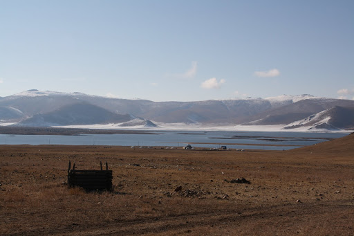 Another Mongolian toilet with a fantastic view