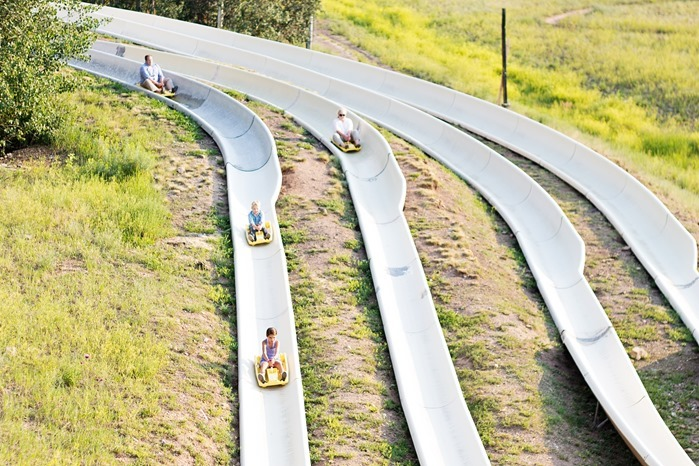 alpine slide in park city