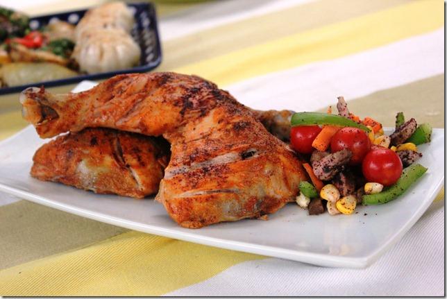 glammed up tandoori chicken