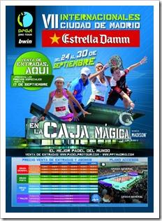 A la venta las entradas para el Bwin PPT Ciudad de Madrid 2012 en la Caja Mágica.