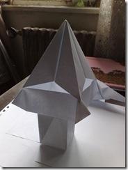 cateva cretii origami facute din coli de xerox