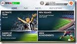 صورة القائمة الرئيسية للعبة فيفا 2014