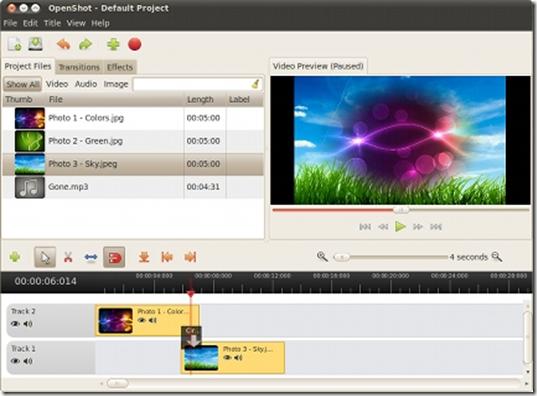 มาแล้ว Openshot 1.4.1 โปรแกรม Video Editor บน Linux