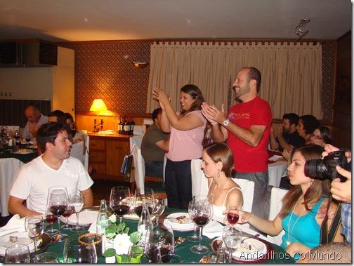 Aniversario da Leti e do Mauricio Noite Italiana BlogTurFoz Hotel Bella Italia Foz do Iguaçu