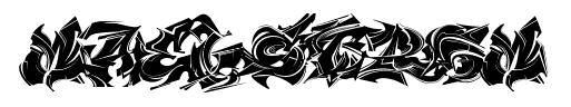 maelstrom graffiti typography