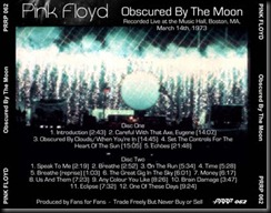PRRP 062 Pink Floyd 1973 03 14 Boston Back2