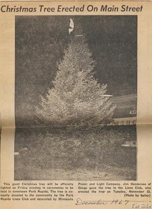 1967 December Christmas Tree