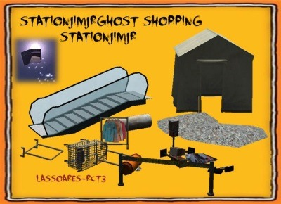 stationjimjrGhost Shopping II Scenery Itens e III Ride Events (StationJimJr) lassoare-rct3
