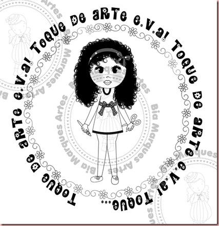 marca d'água Olga PRETA AMOSTRA