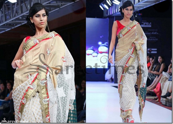 White_Gold_Embroidery_Saree