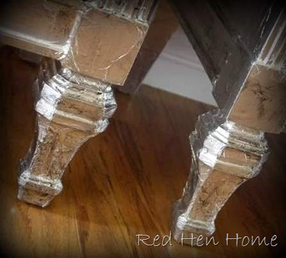 aluminum foil nightstands