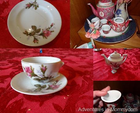 releasing my precious tea set
