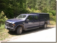 Weed pluck truck