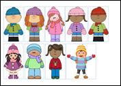 παιδιά χειμώνα