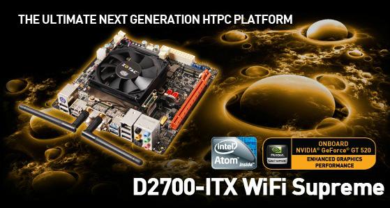 Zotac D2700 ITX Wifi Supreme