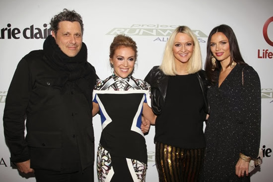 Alyssa Milano, Isaac Mizrahi, Georgina Chapman, and Zanna Roberts Rassi Celebrate the QVC Collaboration with Project Runway All Stars