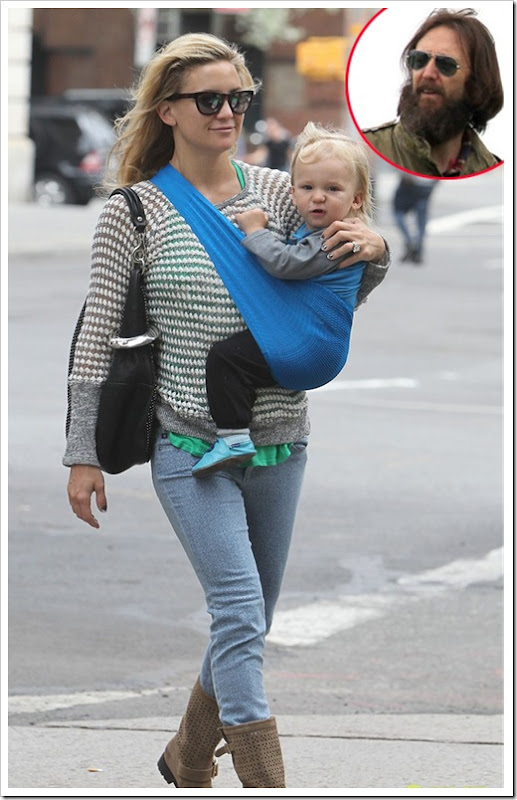 Kate Hudson her ex husband Chris Robinson
