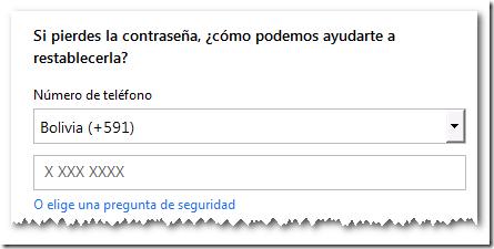 Si pierdes la contraseña, Creando una Cuenta Live | Microsoft SQL 2012 Free