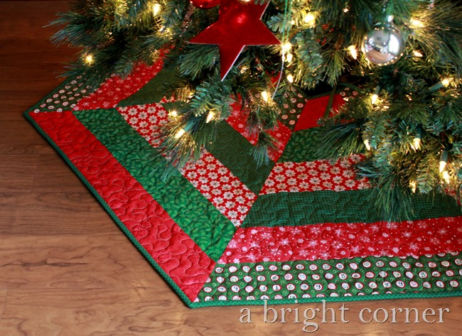 christmas tree skirt - Christmas Tree Skirt Pattern