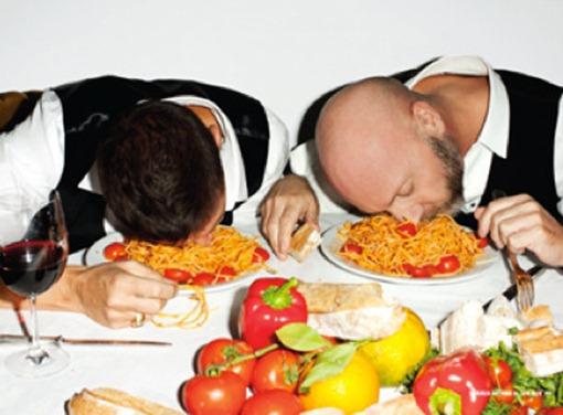 Мордой в спагетти