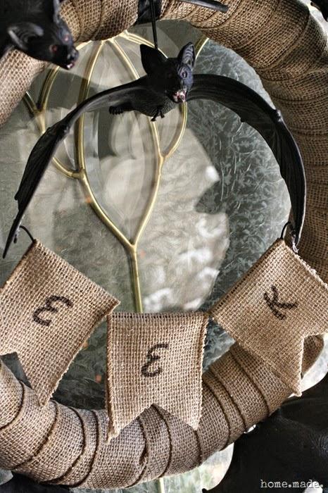 EEK Bat Wreath
