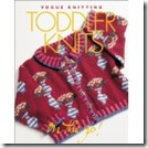 Todlers knit, Vogue