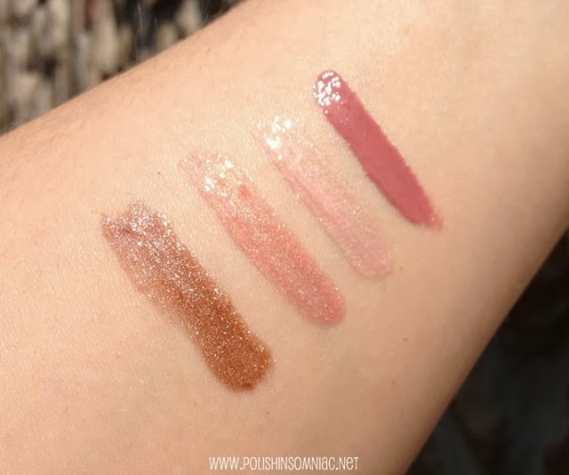 butter LONDON LIPPY Shimmer Swatches