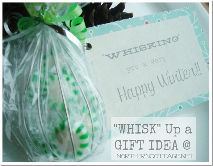 whisking gift idea @ Northern Cottage.net