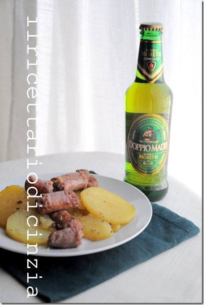 salsiccia e patate saltate con birra e rosmarino&hellip;