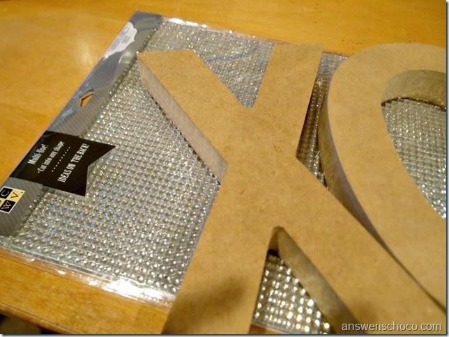 DCWV Bling Sheet Letters