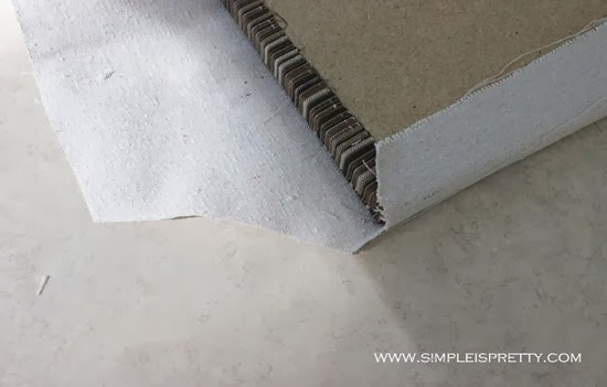 Make relief cuts in cloth