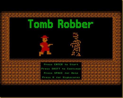 Tomb Robberタイトル