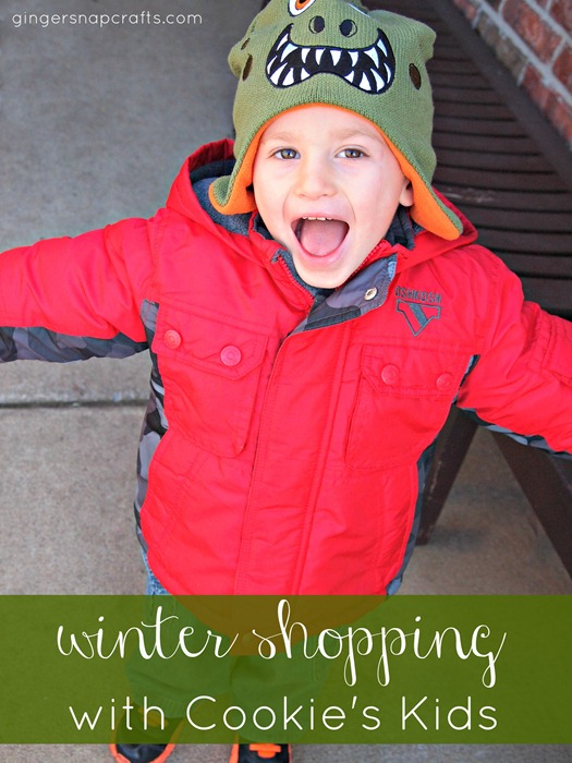 winter shopping with Cookie&#39;s Kids #CookiesKids