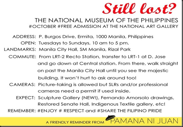 National Museum-address