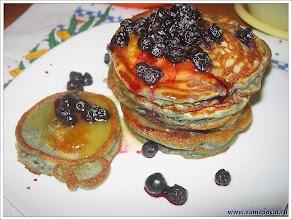 Американские фруктовые оладьи. www.samapovar.ru