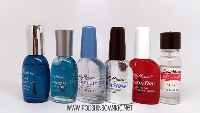 Sally Hansen Nail Polish Treatments