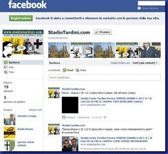 stadiotardini com su facebook
