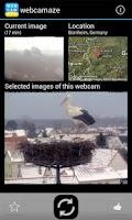 Screenshot of webcamaze - amazing webcams
